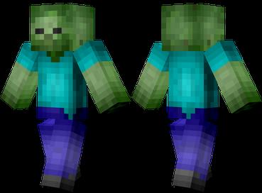 Minecraft skin - Zombi HD