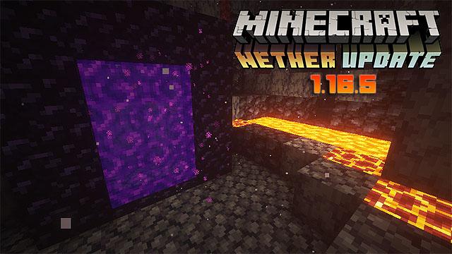 Скачать Майнкрафт 1.16.5 на ПК | Nether Update