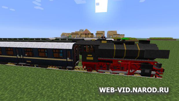 Скачать Майнкрафт лаунчер 1.6.4 с модами на поезда