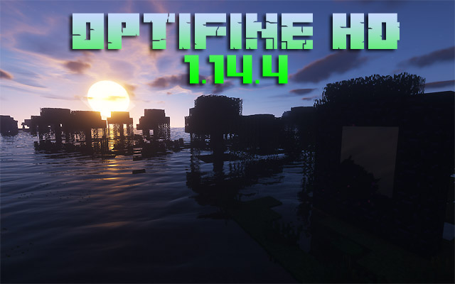 Скачать Optifine HD 1.14.4 для Майнкрафт с Яндекс диска