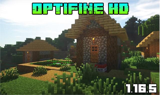 Мод Optifine HD U G6 для Майнкрафт 1.16.5