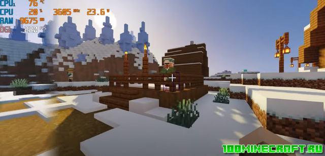 Оптифайн HD Ультра мод для Майнкрафт 1.17.1 | 1.17
