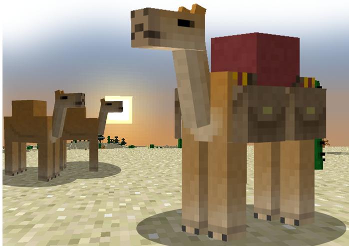 Мод Camel на Андроид для Minecraft PE 1.0.8