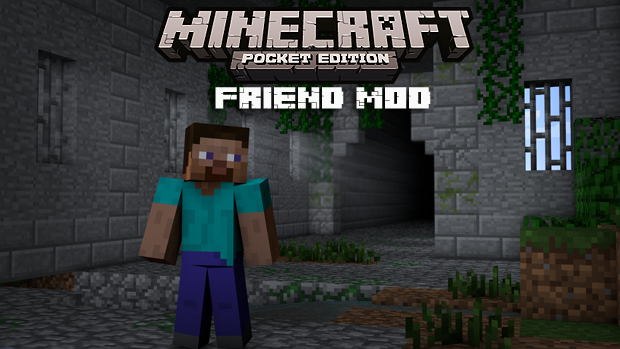 Мод на Андроид/iOS для Майнкрафт PE 0.9.5 - Friend / Скачать бесплатно