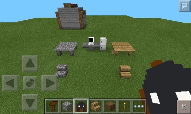 Мод для iOS/Андроид MCPE - Furniture / Майнкрафт PE 0.9.5