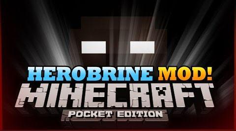 Скачать мод для Minecraft PE 0.9.5 - Herobrine / Андроид