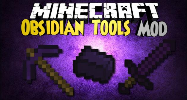Мод Obsidian Tools на Андроид/iOS для Майнкрафт PE 0.9.5 - Скачать бесплатно