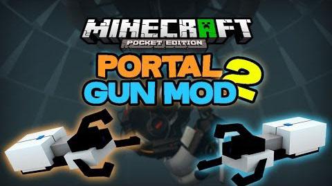 Скачать мод Portal Gun 2 для MCPE на iOS/Андроид / Бесплатно