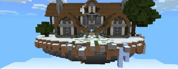Скачать карту для Майнкрафт PE / Bones Mansion
