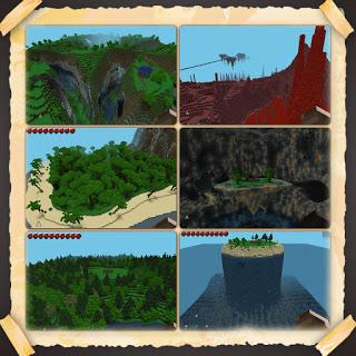 Скачать Майнкрафт карту для Андроид - Custom Terrain