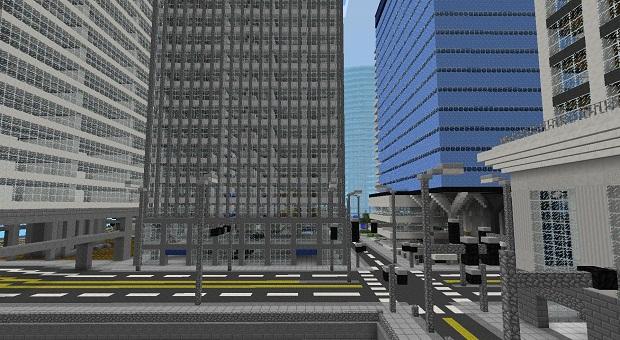 Карта The City of Industria для Майнкрафт PE/iOS
