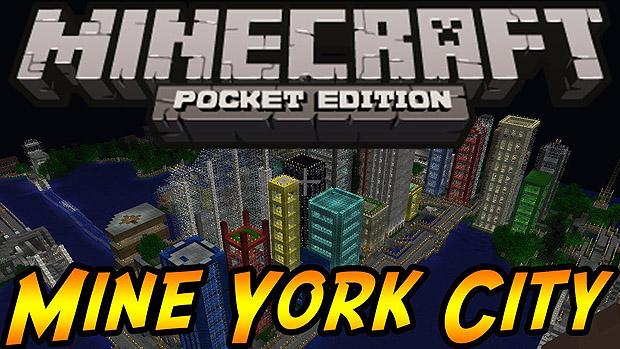 Скачать Майнкрафт карту для PE на планшет или Андроид / Mine York