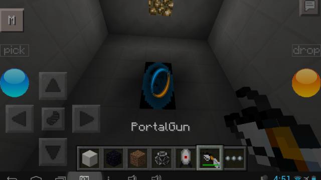 Карта на прохождение для Майнкрафт PE / Portal 2 Adventure