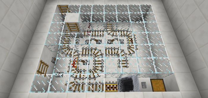 Карта с головоломками для Майнкрафт PE