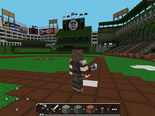 Скачать Майнкрафт карту для Андроид - Rangers Ballpark