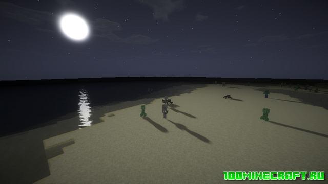 Скачать шейдеры для Майнкрафт 1.16.5, 1.7.10   Trilitons Shaders