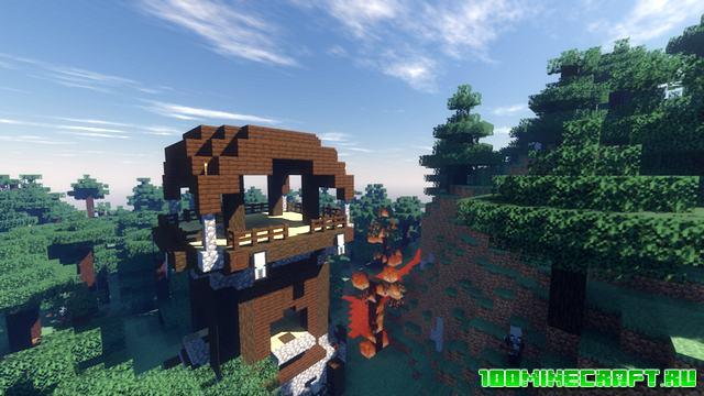 Шейдеры Voyager для Minecraft 1.16.5, 1.15.5, 1.12.2