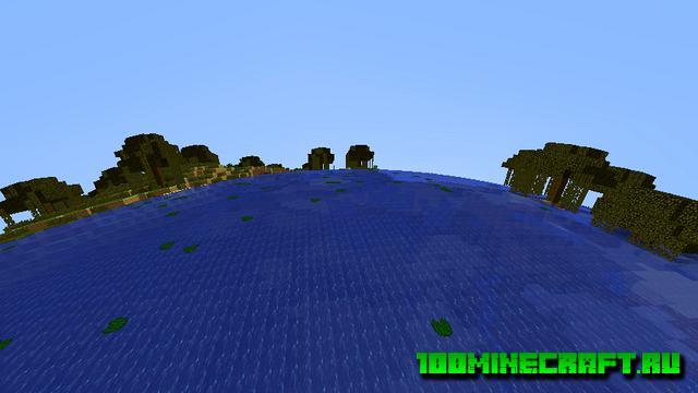 Скачать шейдеры World Curvature для Minecraft 1.16.5, 1.15
