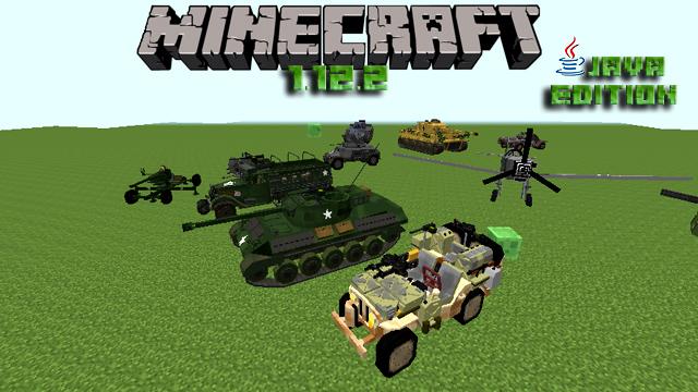 Майнкрафт 1.12.2 с модами - Военная сборка на оружие