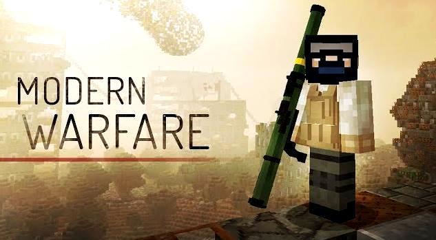 Майнкрафт 1.12.2 с модами - Modern Warafare