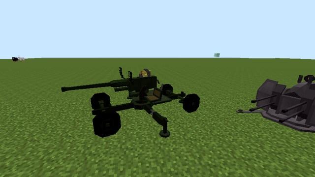 Майнкрафт 1.12.2 с модами - Военная сборка на оружие Flan's мод