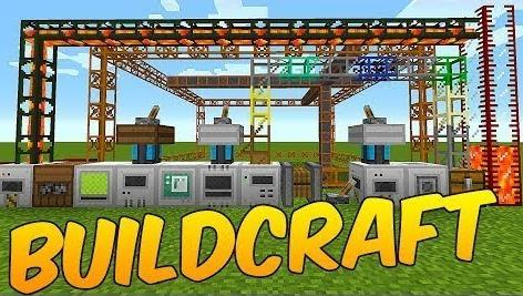 Майнкрафт 1.12.2 с модами - Build Craft