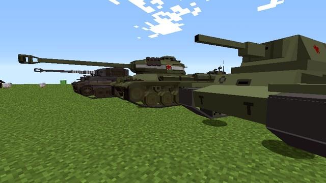 моды на майнкрафт 1.7.10 танки #7