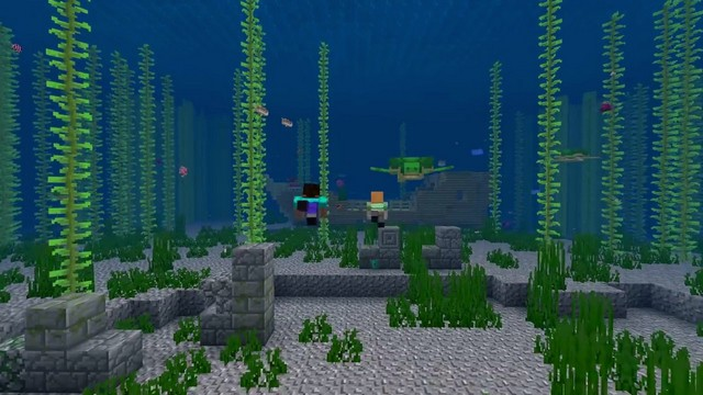 Майнкрафт 1.13 - Aquatic Update