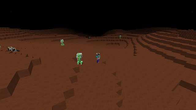 Майнкрафт мод 1.6.4 / Марс