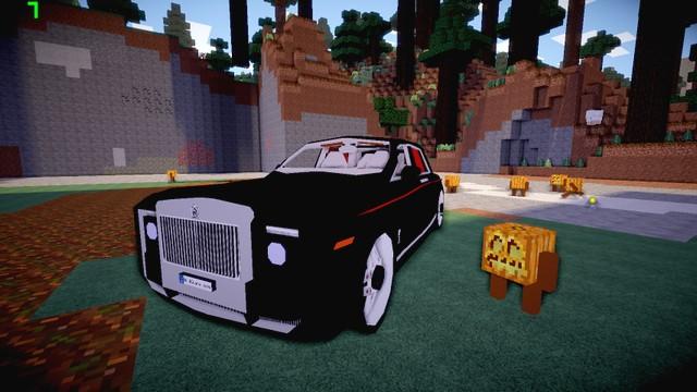 Майнкрафт лаунчер с модами - Сборка Halloween на оружие и машины