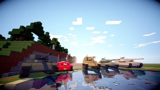 лаунчеры майнкрафт с модами на оружие и машины и самолёты #9