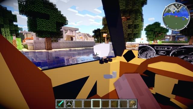 лаунчеры майнкрафт с модами на оружие и машины и самолёты #3