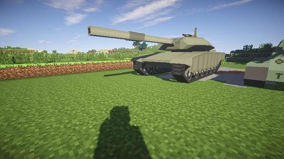 Скачать сборку Майнкрафт 1.7.10 с модами на оружие и машинами