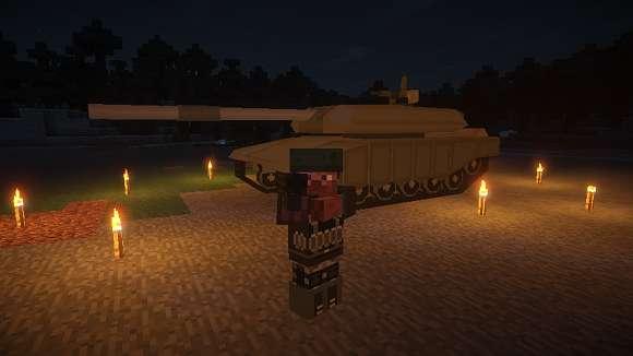 Моды на автоматы, пистолеты, танки, самолеты и вертолеты для Майнкрафт 1.7.10
