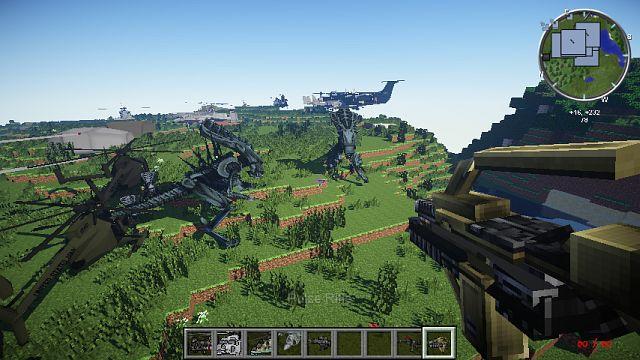 Сборки minecraft 1.7.2 с модами реалистичный с 100 модами