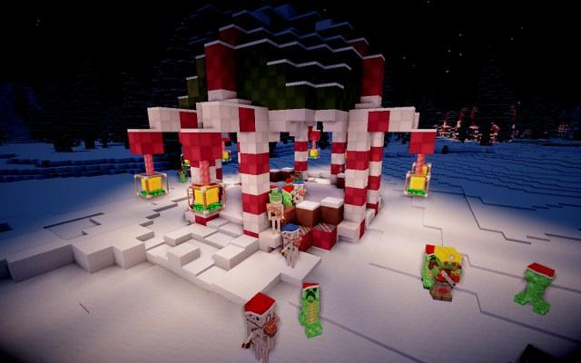 Скачать Рождественские текстуры для Майнкрафт 1.12.2