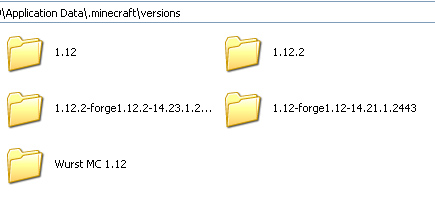 Скачать Майнкрафт чит Wurst MC 1.12 | XRay :: Fly :: Items