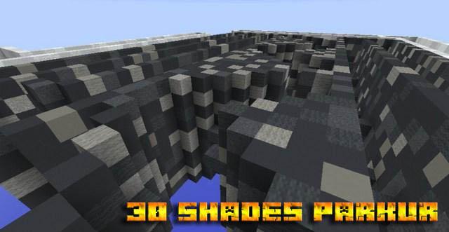 Карта паркур для Minecraft 1.12.2 / 30 Shades Of Parkour