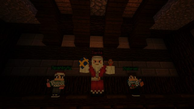 Скачать Новогоднюю карту для Майнкрафт 1.12.2