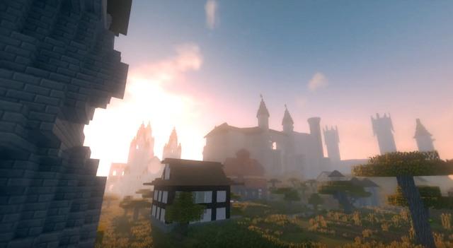 Скачать карту город Салдур для Майнкрафт 1.12.2