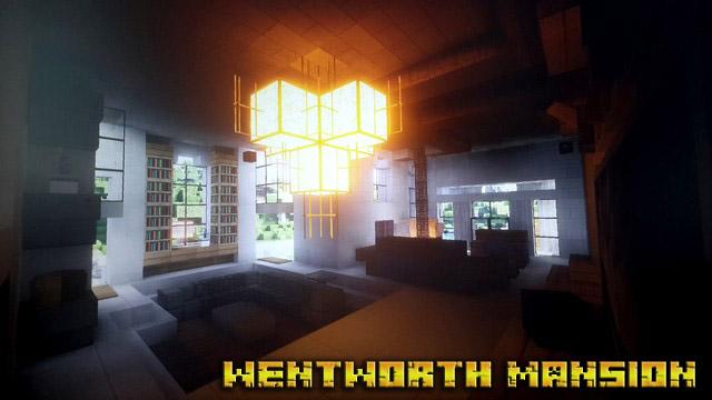 Карта особняк Вентворт для Minecraft 1.12.2, 1.8