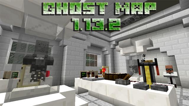 Карта с призраками для Майнкрафт 1.13.2
