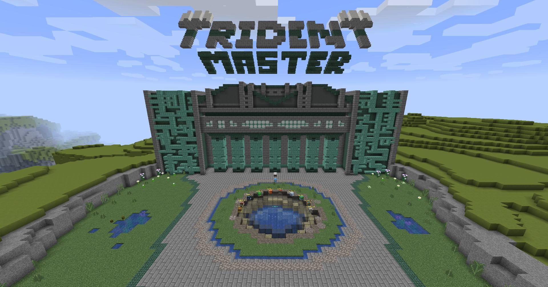 Карта Trident Master на Майнкрафт 1.13
