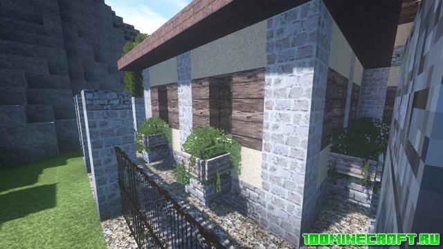 Карта «Итальянский дом» для Майнкрафт 1.16.5