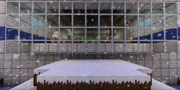 Карта с прохождением The Ice Lab для Майнкрафт 1.8 - Скачать бесплатно