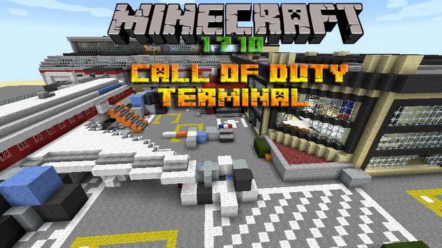 Скачать карту Call of Duty: Terminal для Minecraft 1.7.10/1.8
