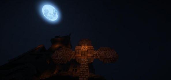 Скачать карту на прохождение The Lunatic Asylum of Darkness для Майнкрафт