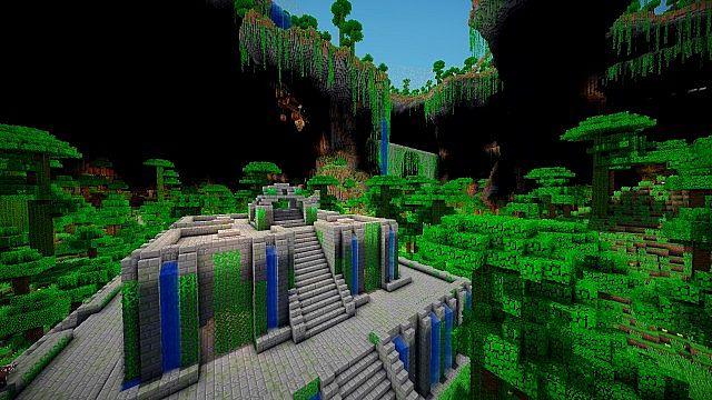 Карта для Майнкрафт на прохождение