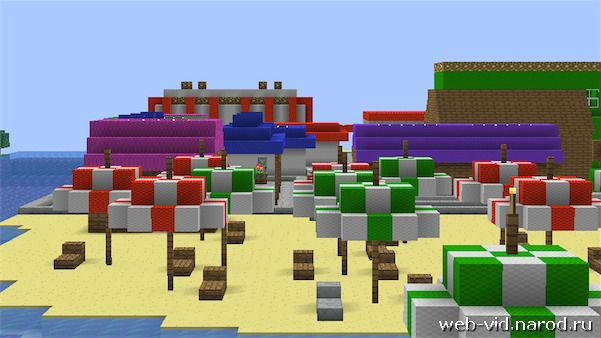 Скачать бесплатно карту для Minecraft 1.5.2 - 1.6 /
