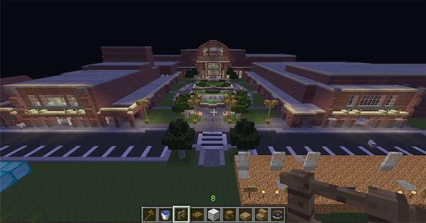 Карта для Minecraft / Центральная школа / Скачать бесплатно